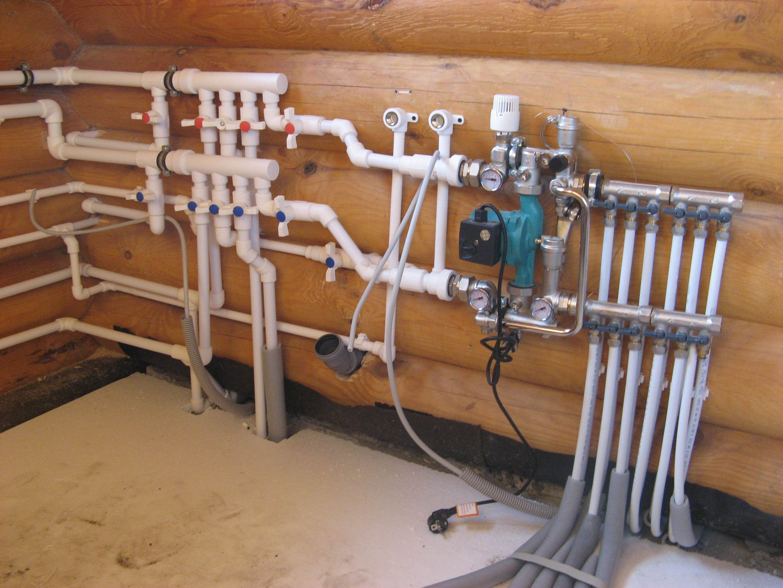 Монтаж отопления в коттедже под ключ